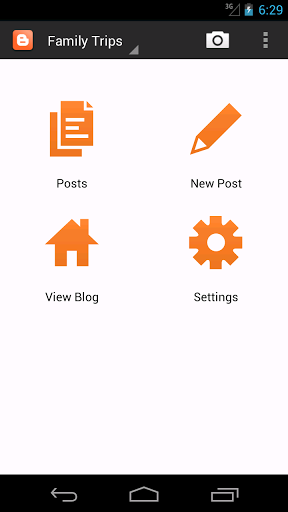 Free android apps- Blogger for Android