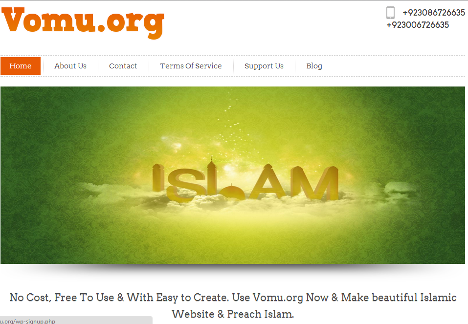Build Your Own Islamic Website Free Of Cost Build Free