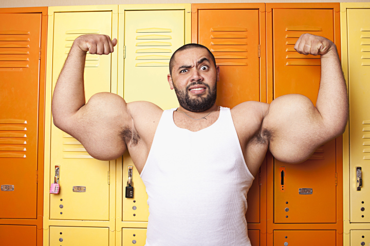 Largest Man Biceps