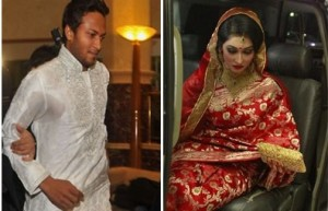 Shakib Al Hasan wedding