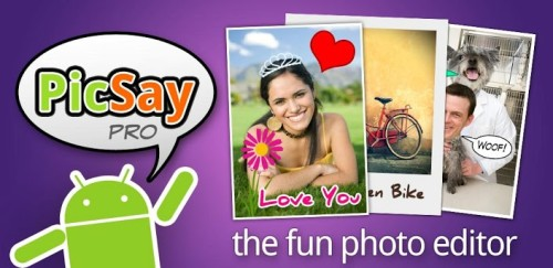 Top Paid Android Apps for Photographers- Pic Say pro - Photo Editor