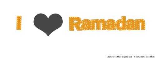 I Love Ramadan Islamic cover photos