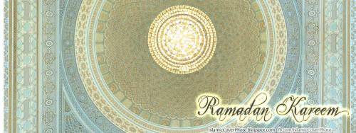islamic Cover Photo for facebook- Ramadan kareem