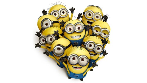 Group of Cute Minions