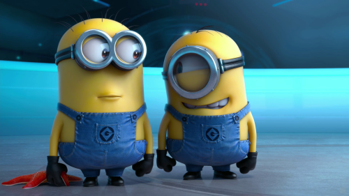 Cute Minions in Despicable me 2