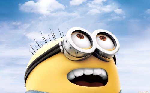 Minion Close Shot